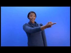 """How to sign """"they"""" in SASL Sign Language, African, Signs, Learning, Youtube, Shop Signs, Studying, Teaching, Youtubers"""