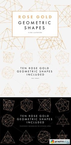 Paper art 25xeps eventist pinterest vector stock photoshop rose gold geometric pattern gumiabroncs Images