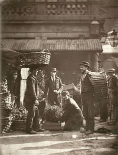 Covent Garden Labourers. 1877