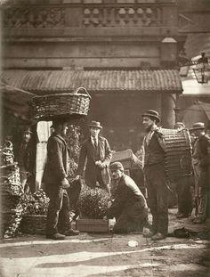 Covent Garden Labourers. 1877