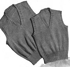 a8bdc963a Link to download the FREE Knit for Victory pattern Sleeveless Pullover  Pattern  S-113