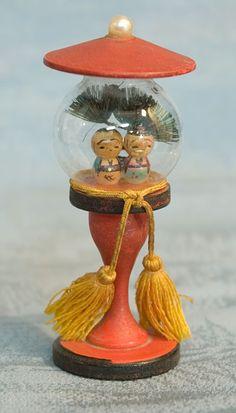 Vintage Kokeshi Figurine