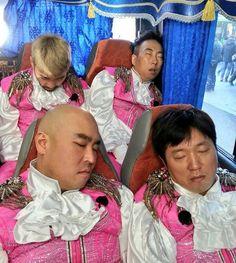Infinity Challenge Sleeps :D Muhan Dojeon