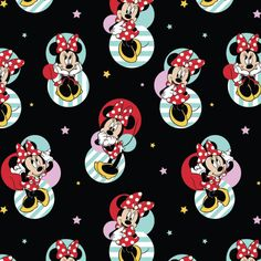 Minnie Mouse Badges