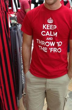 Definitely Keep Calm Taylor and Throw to the 'Fro!  Love you, Kenny Bell and all of the Nebraska Huskers!