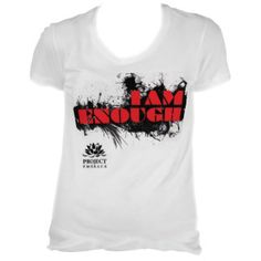 The Project Embrace I am Enough T-shirts for the Say It With A T-Shirt Campaign. Get yours, style it up, share for the chance to win fabulous prizes. #iamenoughtshirts