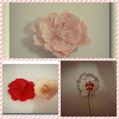 my first gumpaste flower
