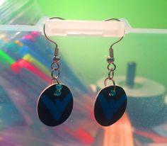 #nightwing earrings on sale for $8.00 on my Etsy Shop!  #batman #nightwing #dickgrayson