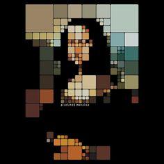 Mona Lisa - Squares.
