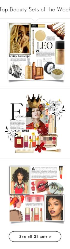 """""""Top Beauty Sets of the Week"""" by polyvore ❤ liked on Polyvore featuring beauty, Revlon, Captain Blankenship, Anastasia Beverly Hills, MAC Cosmetics, Lipstick Queen, Butter London, Dolce&Gabbana, Bella Bellissima and brighteyes"""