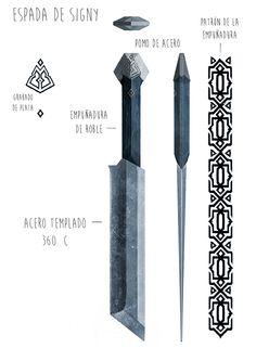 Bushcraft Knives, Tactical Knives, Cool Knives, Knives And Swords, Tomahawk Axe, Diy Knife, Knife Patterns, Fantasy Sword, Sword Design
