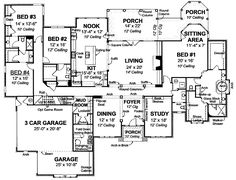 images about House Plans on Pinterest   House plans  Square     sq ft house plan