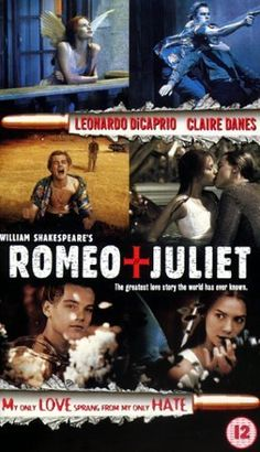 Romeo + Juliet - I have always liked how Baz Luhrmann took and modernized the tale of Romeo and Juliet. If these characters were around today, I believe as he does that they would be using guns as weapons and not swords. What I also like besides this is the music and the way that he still had the characters speak the way that Shakespeare wrote them.