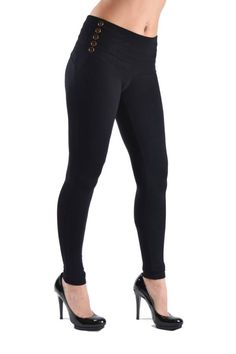 084f16ea660ce 42 Best Jeggings images | Black slacks, Casual outfits, Chic clothing