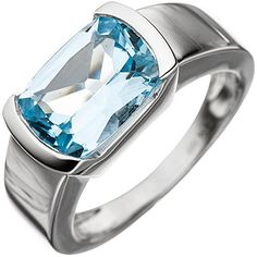 SIGO Ladies Ring 585 Gold White Gold 1 Blue Topaz Light Blue Blue Gold Ring Order now at: mode. Source by damenmodeladendirekt Blue Gold, White Gold, Topaz, Jewelry Rings, Light Blue, Rings For Men, Engagement Rings, Jewels, Ebay