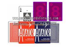 Modiano Italian 100/% Plastic Playing Cards Texas Poker Red Swirl Design