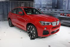 2014 NYIAS: The New BMW X4  Has Its World Debut - http://www.bmwblog.com/2014/04/16/2014-nyias-new-bmw-x4-world-debut/