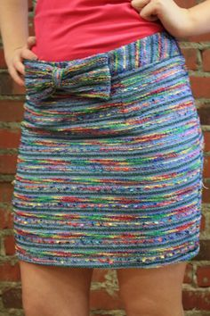 Wish Bow Skirt at Cocobella Boutique! Perfect for spring and will match just about any color top! www.shopcocobella.com