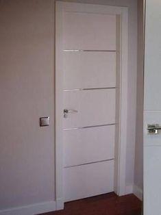 Internal Doors With Frosted Glass Panels Room Door Design, Wooden Door Design, House Design, Custom Wood Doors, Wooden Doors, Flush Doors, Indoor Doors, Inside Doors, External Doors