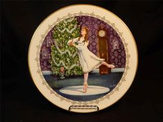 1982 Boehm Tribute to the Ballet Nutcracker Bone China Collector's Plate MINT