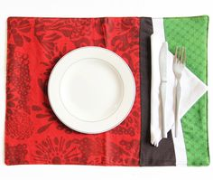 Poinsettia Patch Placemats