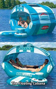 » The floating cabana - I want this!!