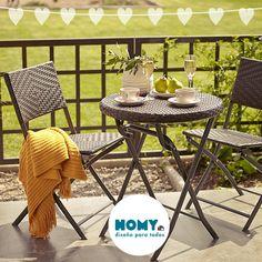 #terraza #ratán #inspiración #Homy #Deco #hearts #balcón #jardín