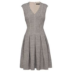 Buy Karen Millen Couture Tailored Dress, Neutral Online at johnlewis.com