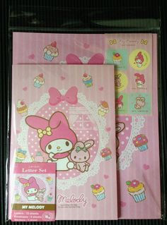 Sanrio My Melody Letter Set #3 - Japan Stationery
