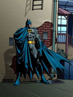 ♠ Batman by Jose Luis Garcia-Lopez ♠ Batwoman, Nightwing, Batgirl, I Am Batman, Batman Robin, Superman, Dc Heroes, Comic Book Heroes, Star Trek
