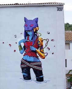 by Deih in #Fanzara, Spain, 7/15 (LP)
