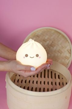 Little B Dumpling Ambient Light Little B Dumpling Ambient Light Pre-Order Choses Cool, Cute Night Lights, Kawaii Bedroom, Cute Room Decor, Cool Things To Buy, Stuff To Buy, Little Things, My Room, Easy Diy