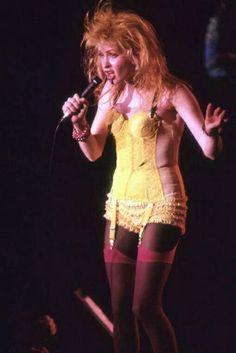 "Cyn ""True Colors World Tour 1986-1987"""