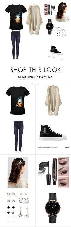 """""""Untitled #290"""" by annabethjames ❤ liked on Polyvore featuring Jennifer Behr and Topshop"""