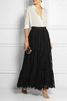 Faldas largas de temporada 2015: fotos de los modelso | Ellahoy                                                                                                                                                                                 Más