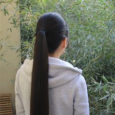 Long Ponytail Hairstyles, Roll Hairstyle, Long Ponytails, Straight Hairstyles, Asian, Long Hair Styles, Image, Beautiful, Hairdos