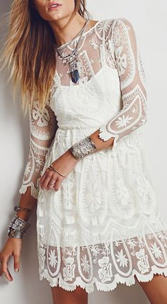 Boho Lace Dress | buy here