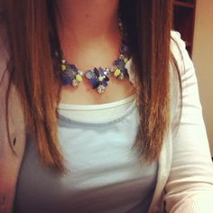 New silver Elodie!  Necklace: Stella & Dot