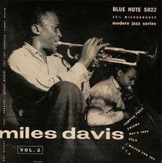 BLUE NOTE 5022  Miles Davis Vol.2     Miles Davis (tp) J.J. Johnson (tb -1/5)  Jimmy Heath (ts -1/5) Gil Coggins (p)  Percy Heath (b) Art Blakey (d)  WOR Studios, NYC, April 20, 1953