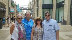 Fam.Hope on a private tour in Jerusalem with our Tour Guide David Cherny