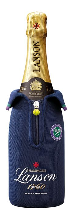 Champagne Lanson's Wimbledon 2016 pouches