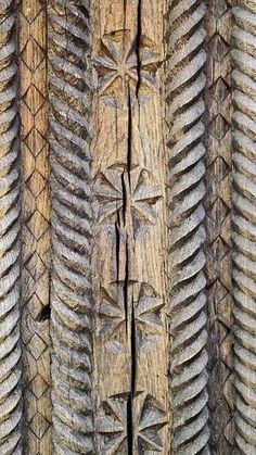 Curtişoara Gate Detail, C. Wood Stone, Wooden Art, Bucharest, Wood Carving, Museums, Geo, Storytelling, Poems, Folk