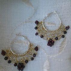 Uncinetto e filo metallico ~ Wire crochet