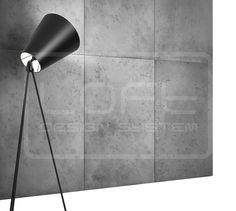 LOFT MODEL CONCRETE  3D WALL PANEL proje@unamaden.com
