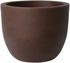 PLUST - Designový květináč ETRIA, Ø 54 x 44 cm - hnědý Vase, Tableware, Design, Home Decor, Dinnerware, Decoration Home, Room Decor, Tablewares