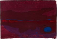 "Helen Frankenthaler, ""Japanese Maple"" (2005), 16-color woodcut from nine woodblocks on handmade paper, 26 x 38 inches, Helen Frankenthaler Foundation (© 2017 Helen Frankenthaler Foundation, Inc. / Artists Rights Society (ARS), New York / Pace Editions, Inc., New York)."