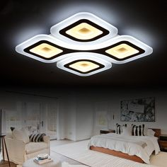 Ceiling Lights & Fans Ceiling Lights Enthusiastic Modern Led Ceiling Light For Living Dining Room Bedroom Lustres Led Chandelier Ceiling Lamp Lampara De Techo Lighting Fixtures Refreshing And Beneficial To The Eyes