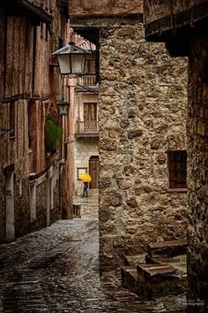 Umbrella, Albarracin, Teruel, Spain photo by hernan