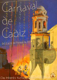 Carnaval de Cádiz 2015. Declarado de Interés Turístico Internacional. http://www.hotelpatagoniasur.es/2015/01/03/quien-es-quien-en-el-carnaval-de-cadiz/  #mardi #travel #fiesta