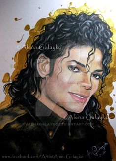 A HEART OF GOLD - MICHAEL JACKSON by AlenaGalayko on DeviantArt